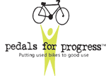 image Pedals for Progress Logo