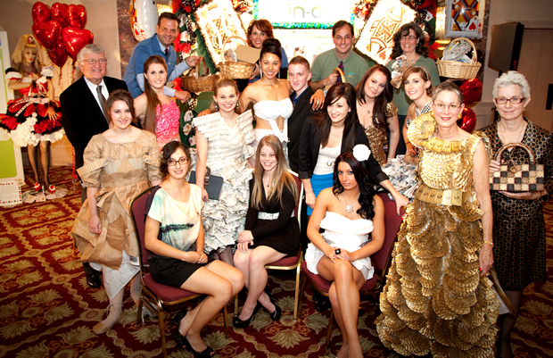 Image of fashion show models