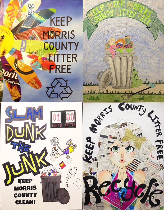 Image the 2013 Slam Dunk the Junk Poster winners.
