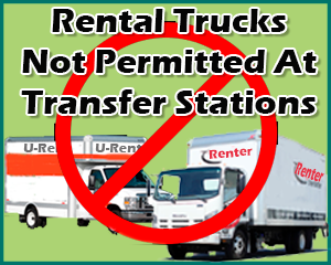 image of Do Not Rent Trucks for Transfer Stations