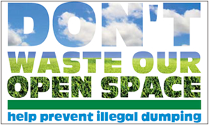 image of Don't Waste Our Open Space Logo