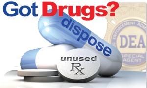 Image of USDEA Got Drugs Take Back Logo