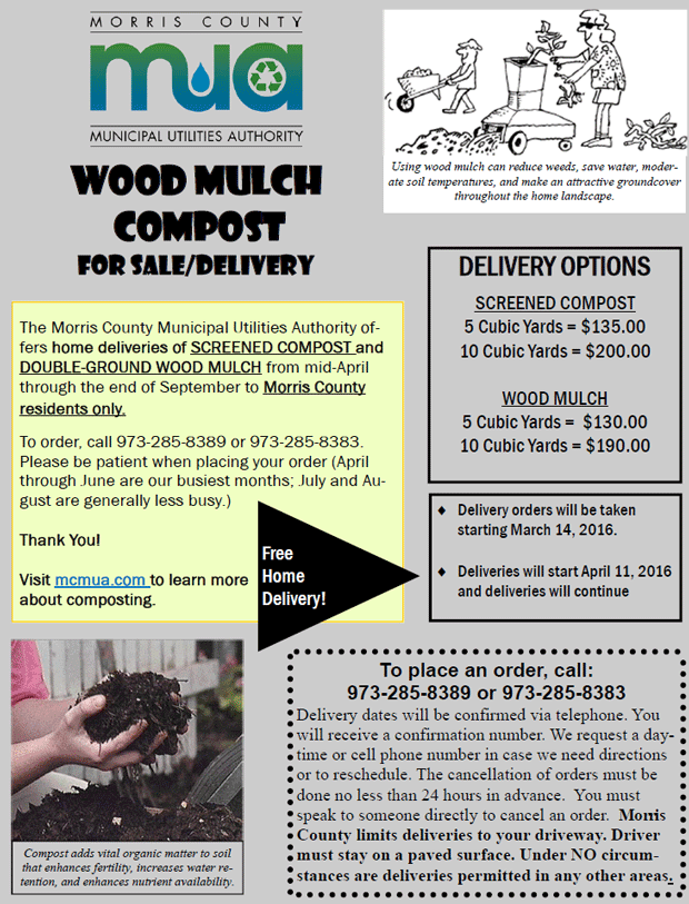 image of Flyer for Compost Delivery