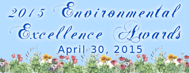 Image 2015 Exnironmental Excellence Banner