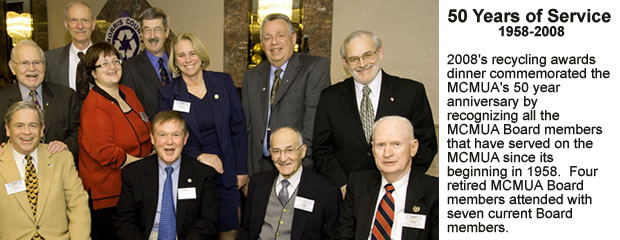 image of 2008 50 Years of Service and Board Members
