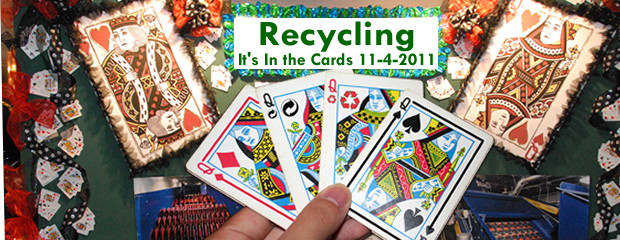 image of Recycling It's In the Cards