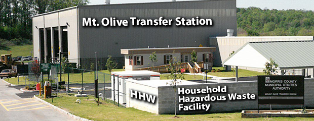 Photo of HHW Facility in Mt. Olive