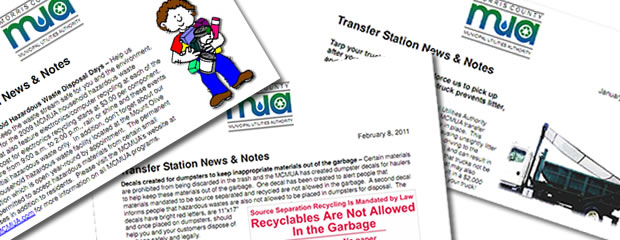 Image of Transfer Station News Document