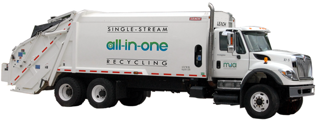 image single-stream truck