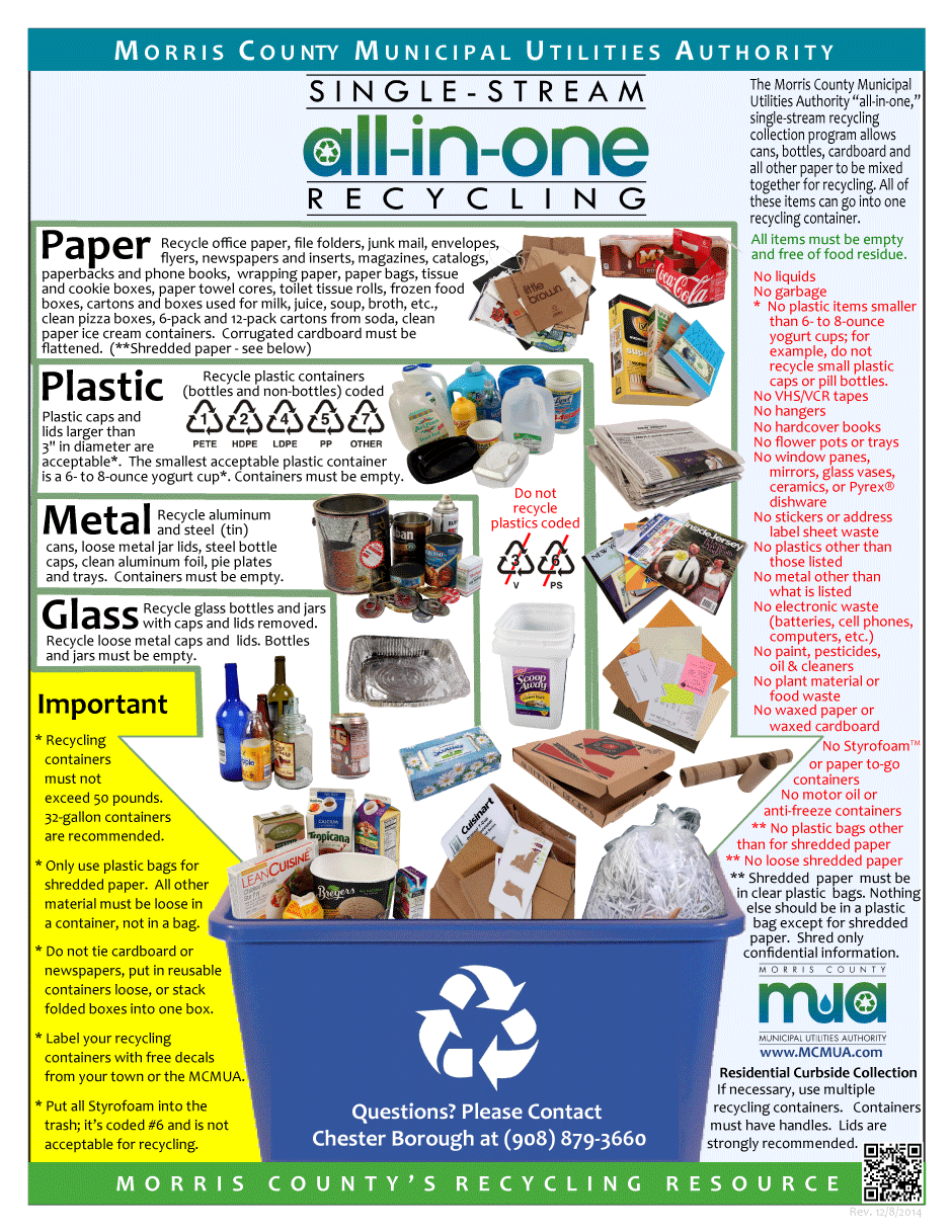 Image of Guide to Single-Stream Recycling