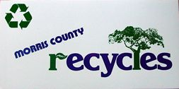 image of decal Morris County Recycles - Tree