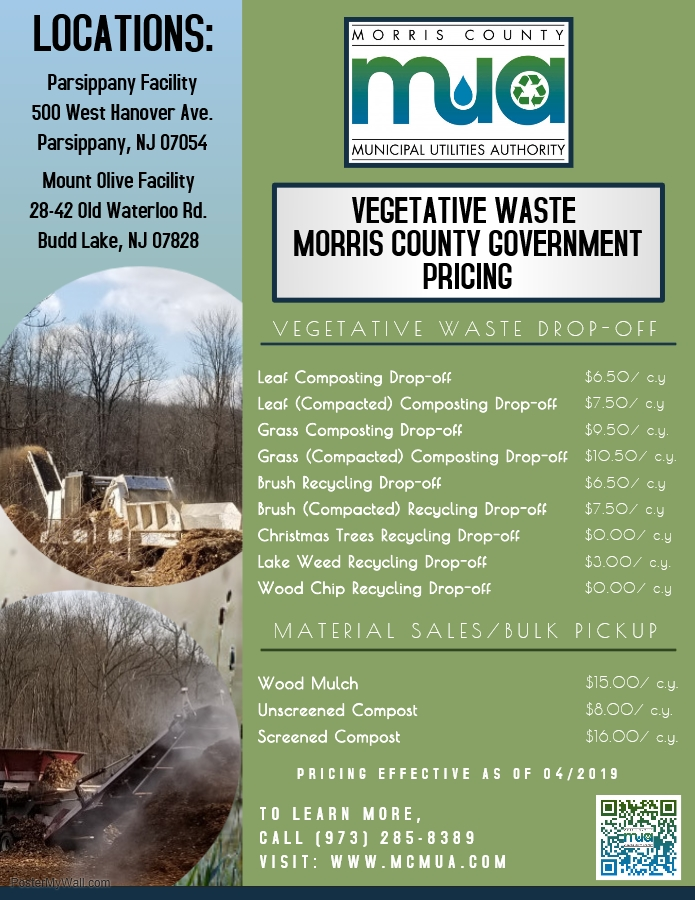 Image of 2019 Veg Waste Pricing (Morris Co. Governments)