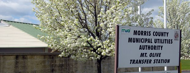 Mt.Olive Transfer Station Sign